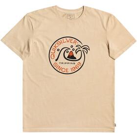 Quiksilver Into The Wild SS T-shirt Herrer, beige